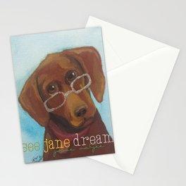 Animal Optics Red Fog Stationery Cards