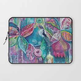 Sacred Temple and the Peacock King - Justine Aldersey-Williams 2012 Laptop Sleeve