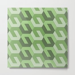 Geometrix LXII Metal Print