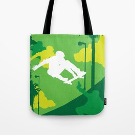 80s TEEN MOVIES :: GLEAMING THE CUBE Tote Bag