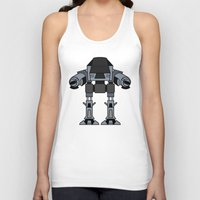 ed sheeran Tank Tops featuring ED 209 by Alex Wolf