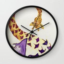 Manta-morphisis Wall Clock