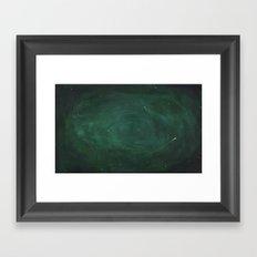 Green Sky Framed Art Print