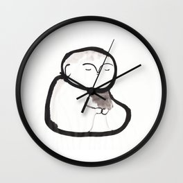 Buddha Meditating Wall Clock