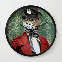 Jasper, Gentleman of the Press Wall Clock