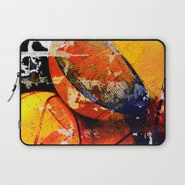 Basketball art print swoosh 113 - Basketball artwork Laptop Sleeve