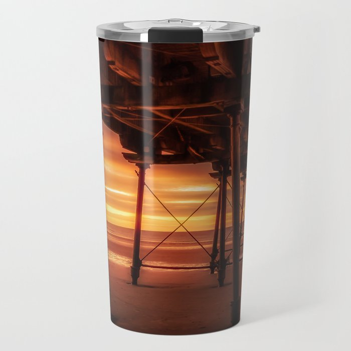 Under the Board Walk Travel Mug