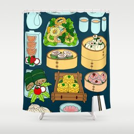 Dim Sum Lunch Shower Curtain