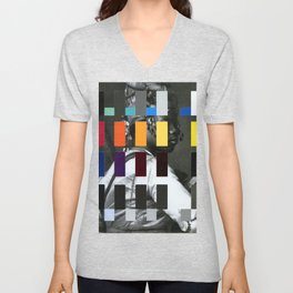 Untitled (or, The Historical Burden of Color Theory) Unisex V-Neck