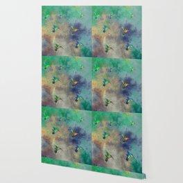 Secret Escape Hummingbird Design Wallpaper