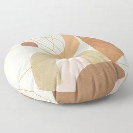 Abstract Modern Art 15 Floor Pillow