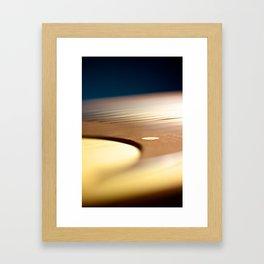 Kirjokansi kantele, detail Framed Art Print
