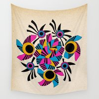 rothko Wall Tapestries featuring - rose - by Magdalla Del Fresto