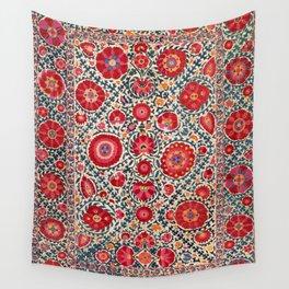 Kermina Suzani Uzbekistan Embroidery Wall Tapestry