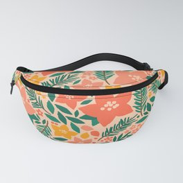 Forest Floral Fanny Pack