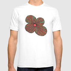 Dreamers2 SMALL White Mens Fitted Tee