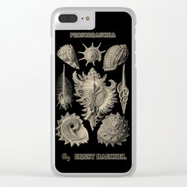 """""""Prosobranchia"""" from """"Art Forms of Nature"""" by Ernst Haeckel Clear iPhone Case"""