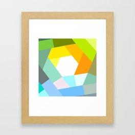 KOLOR crazy Framed Art Print