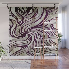 More Swirlls Wall Mural