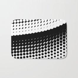 Half Tone Curve Bath Mat