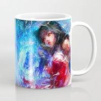 league Mugs featuring League of Legends - Ahri by Raditya Giga