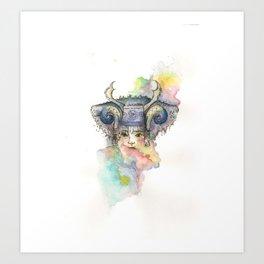 Color Me Hmong Art Print