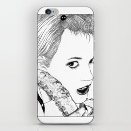 asc 525 - La langue du diable (My devil's tongue) iPhone Skin