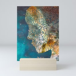 Fragmented Head Mini Art Print