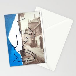 The Lady Down the Lane Stationery Cards