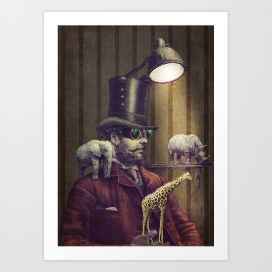 The Miniature Menagerie Art Print