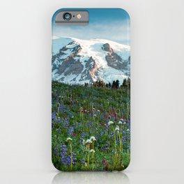 Desktop Wallpapers Mount Rainier Park USA Nature M iPhone Case