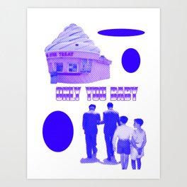ONLY YOU (digital) Art Print