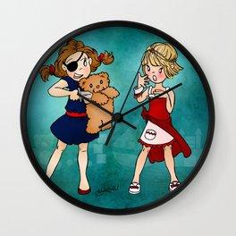 Teddy Bear Ransom Wall Clock