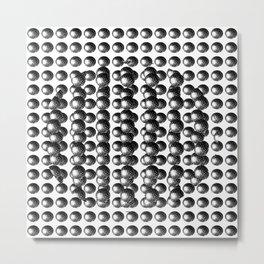 Atoms 2 Metal Print