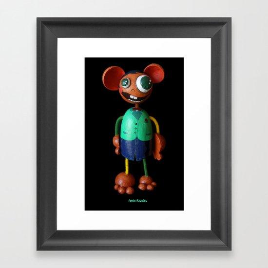 Amin Favolas Framed Art Print