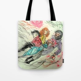 Death and All Her Resting Lovers Tote Bag
