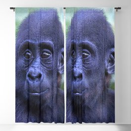 CArt Gorilla Baby Blackout Curtain