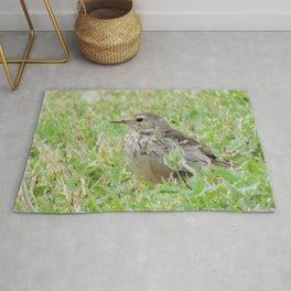 Pipit on the Lawn Rug