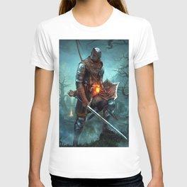Dark Souls Pixel Bonfire T-shirt