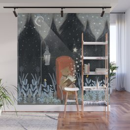 the little book of stars Wall Mural