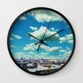 With love, forever yours. Wall Clock