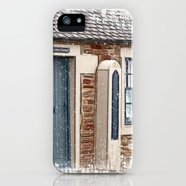Barometer Cottage iPhone Case