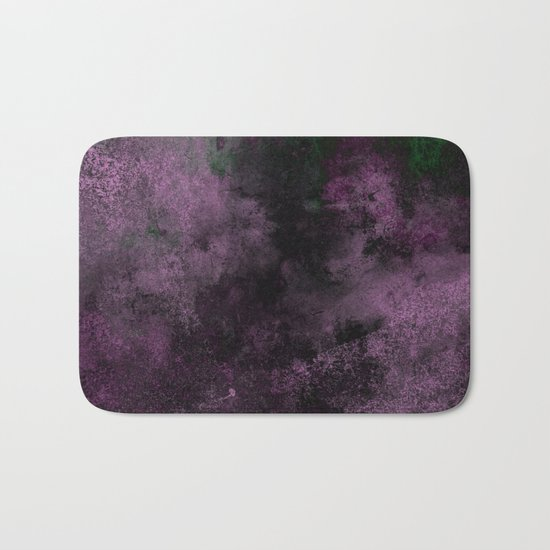 Dusk (Abstract, acrylic painting) Bath Mat