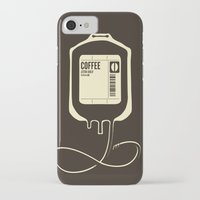 coffee iPhone & iPod Cases featuring Coffee Transfusion by Tobe Fonseca