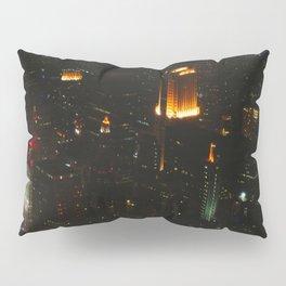 Chicago Skyline Light Show (Chicago Architecture Collection) Pillow Sham