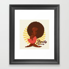 Afrogal Framed Art Print