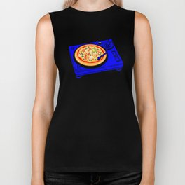 Pizza Scratch Biker Tank