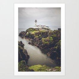 Fanad Lighthouse Art Print