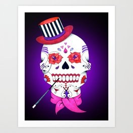 Mr. Raskull Art Print