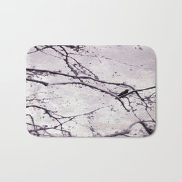 Winter Crow Bath Mat
